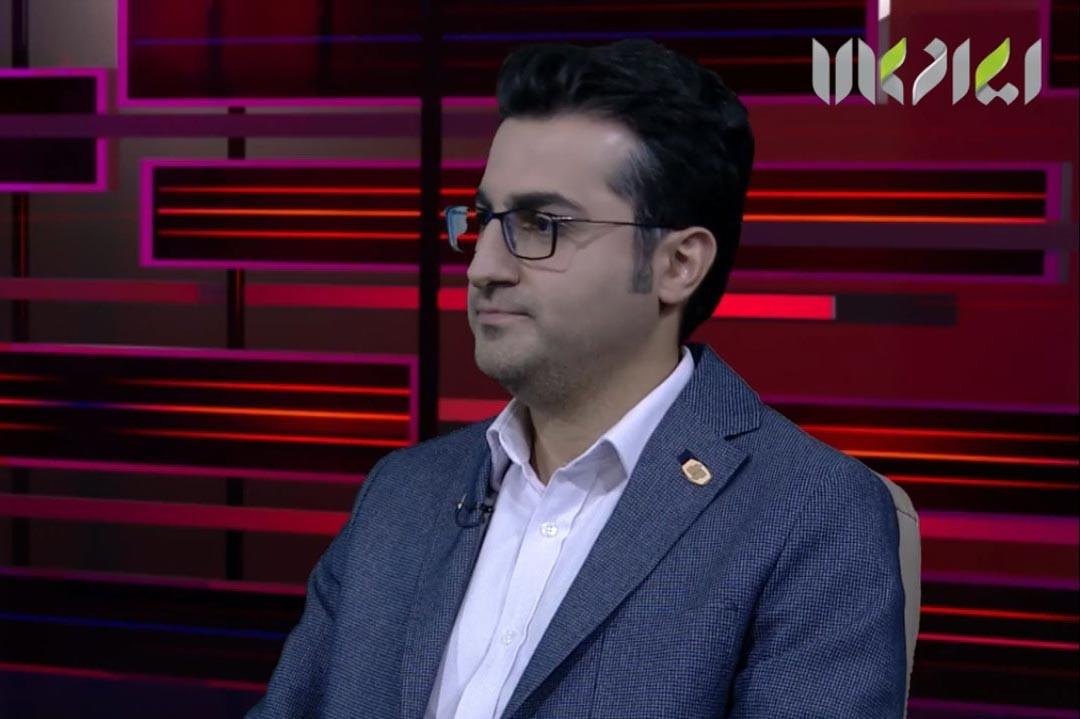 حضور مهندس تاج زاد در برنامه تلویزیونی بارکد