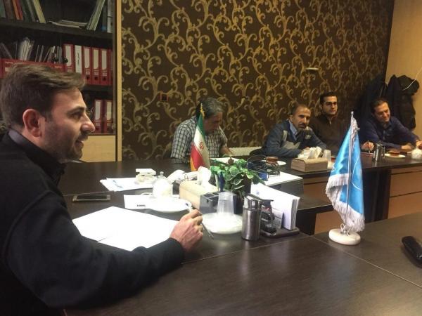 جلسه هیئت مدیره دوره هشتم جامعه صنفی قالبسازان ایران