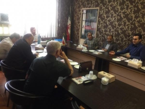 جلسه هئیت مدیره جامعه قالبسازان ایران